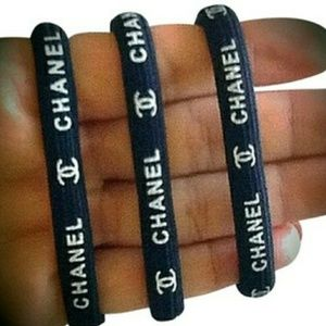 New authentic chanel vip hair ties